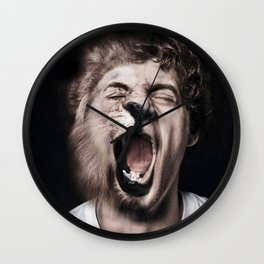 Animorph-Lion Wall Clock