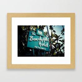 Beverly Hills Hotel, No. 2 Framed Art Print