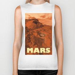 Mars landscape Biker Tank