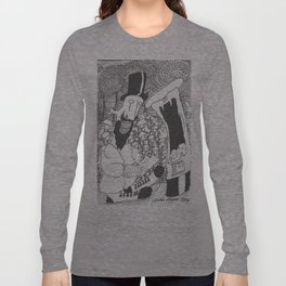 Posting A Letter Long Sleeve T-shirt