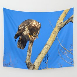 Houdini in Feathers! Wall Tapestry
