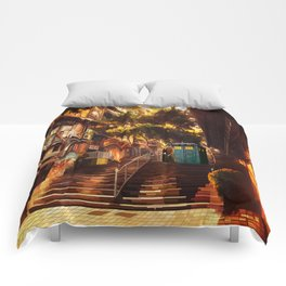 Tardis doctor who lost in cina town iPhone 4 4s 5 5c 6, pillow case, mugs and tshirt Comforters