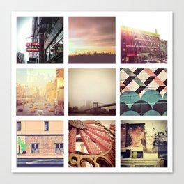 New York Scenes Canvas Print