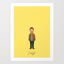 Charlie Day - It's Always Sunny Art Print