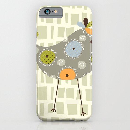 Grey Tweetie Bird iPhone & iPod Case