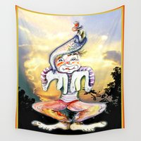 child Wall Tapestries featuring Golden Child by CrismanArt