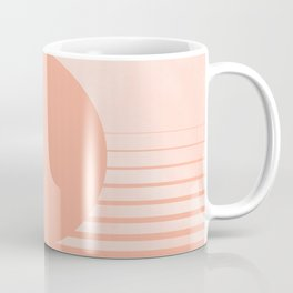 The Sweet Life Collection - Peach Coral Sun Gradient Coffee Mug