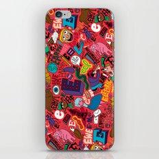 E Pattern iPhone & iPod Skin