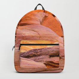 Colorful Sandstone, Valley of Fire State Park Backpack
