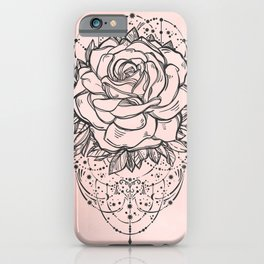 Night Rose iPhone Case