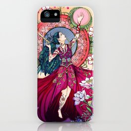 Goddess of the Equinox iPhone Case