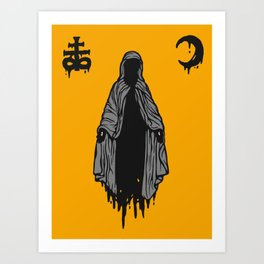 The Mother of Misery Art Print