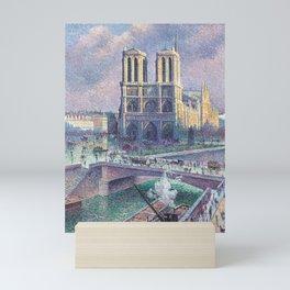Notre-Dame de Paris by Maximilien Luce, 1900 Mini Art Print