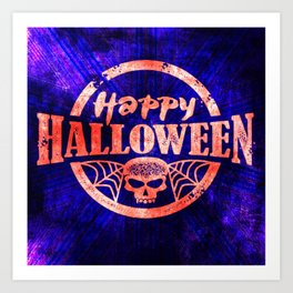 Happy, Happy Halloween! Art Print