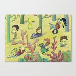 Playtime Canvas Print
