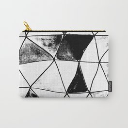 Vitro black and white Carry-All Pouch