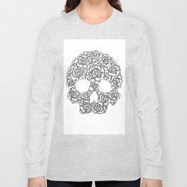 Skull of Roses Long Sleeve T-shirt