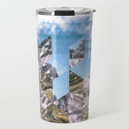 Mountain Fragments Travel Mug