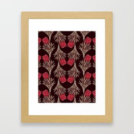 PROTEA IN VINO Framed Art Print