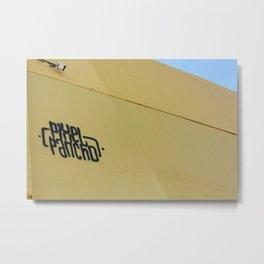 Pancho Pix Metal Print