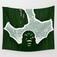 hulk Wall Tapestries featuring Hulk by Duke Dastardly