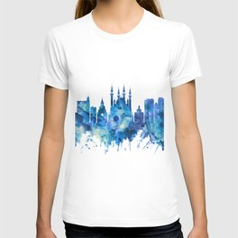 Kazan Russia Skyline Blue T-shirt