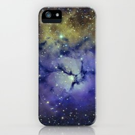 Pansy in Space iPhone Case