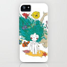 Sea Girl iPhone Case