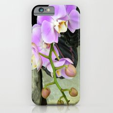Orchids on the Rocks iPhone 6s Slim Case