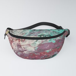 Soft Whispers of Garden Fairies Fanny Pack