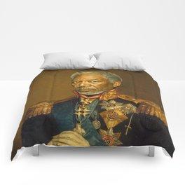 Morgan Freeman - replaceface Comforters