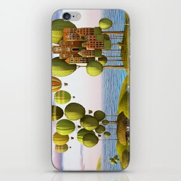City in the Sky_Lanscape Format iPhone Skin