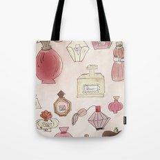 Pefume Collection Tote Bag