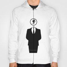 Anonymous / White / Blanc / Les Hameçons Cibles Hoody