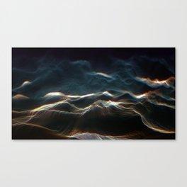 Vertex Noisy Displacement Canvas Print