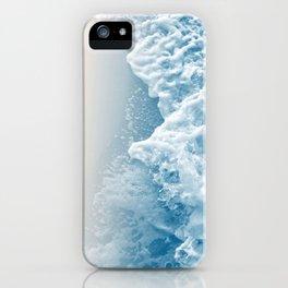 Soft Blush Blue Ocean Beauty #1 #wall #decor #art #society6 iPhone Case