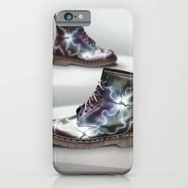 Dr Martens - Metallic Spores iPhone Case