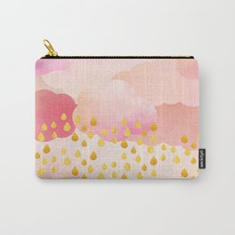 Rose gold rainshowers Carry-All Pouch