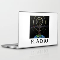radio Laptop & iPad Skins featuring Radio by Ken Coleman