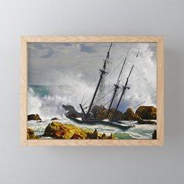The Big Swell Framed Mini Art Print