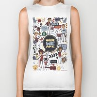 cargline Biker Tanks featuring WWA Poster by cargline