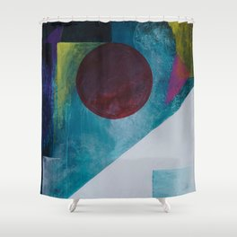Earthscape on the Moonrise Shower Curtain