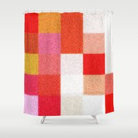 blanket Shower Curtains featuring Blanket by Mr and Mrs Quirynen
