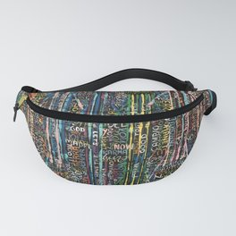 Awakening, people and words Fanny Pack