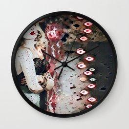Bloody Smoke Wall Clock