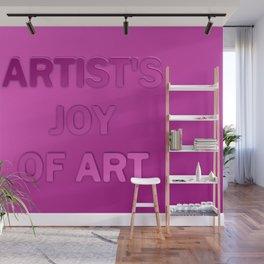Artist's joy of art 3 Wall Mural