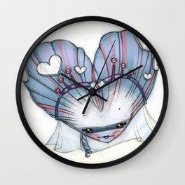 Reina de Corazones (Queen of Hearts) Wall Clock