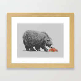 Cannibalism Framed Art Print