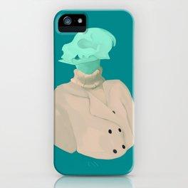 Skull babe 4 iPhone Case