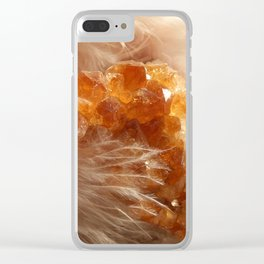 Soft Citrine Clear iPhone Case